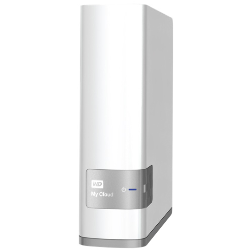 WD My Cloud 1-Bay 4TB Personal Cloud Network Attached Storage