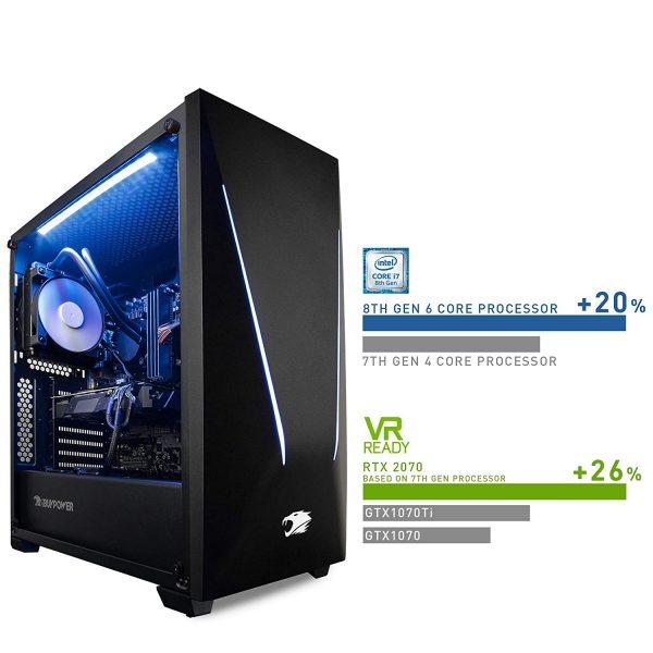iBUYPOWER Gaming PC Desktop Trace 9220 Liquid Cooled
